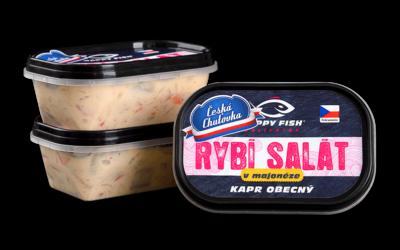 Rybí salát vmajonéze –Kapr obecný