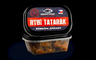 Rybí tatarák ze sumečka afrického